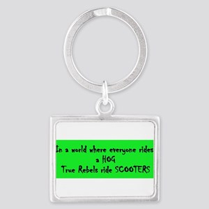 hog_scooter2 Keychains