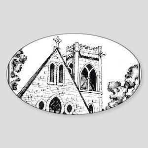 UVA Chapel Sticker