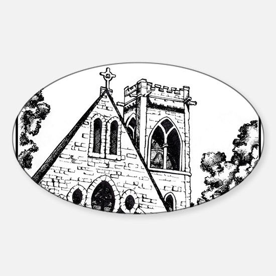 UVA Chapel Decal