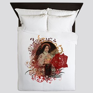 St. Therese Queen Duvet