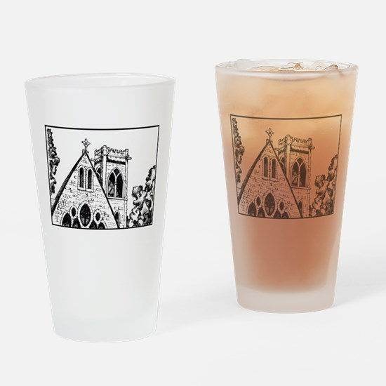 UVA Chapel Drinking Glass