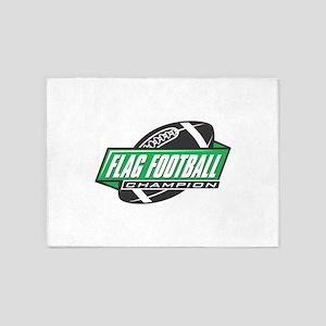 Flag Football Champion 5'x7'Area Rug