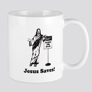 Jesus Saves! Mugs
