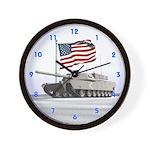 Abrams Tank Wall Clock