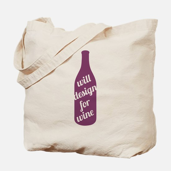 Design For Wine Tote Bag
