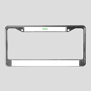 EDBTZ License Plate Frame