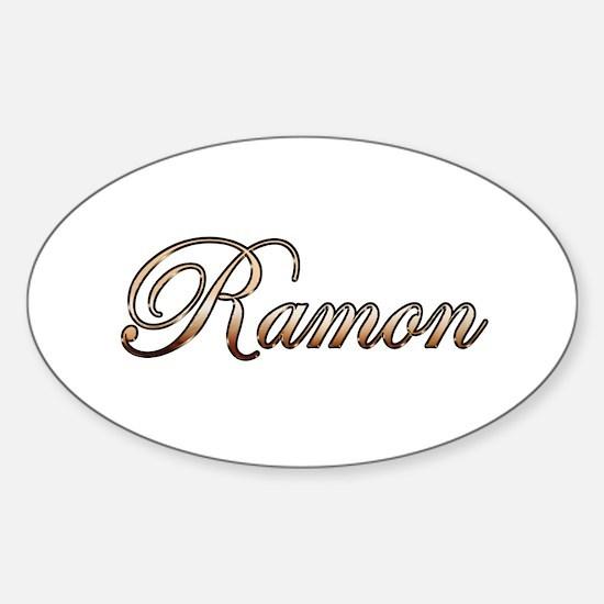 Gold Ramon Decal