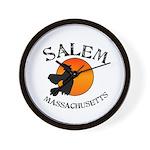 Salem Massachusetts Witch Wall Clock