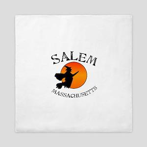 Salem Massachusetts Witch Queen Duvet