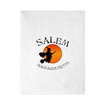 Salem Massachusetts Witch Twin Duvet