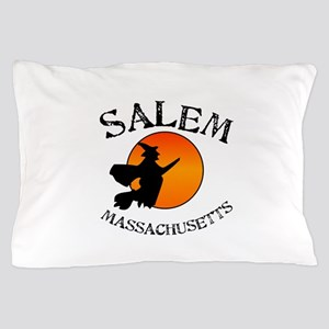 Salem Massachusetts Witch Pillow Case