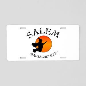 Salem Massachusetts Witch Aluminum License Plate