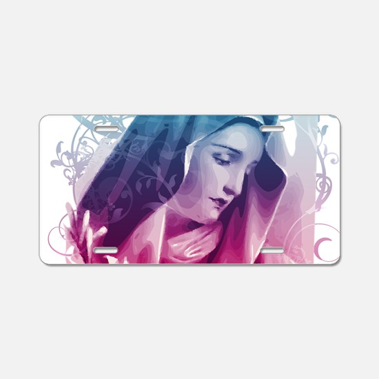 Most Pure Heart of Mary (ve Aluminum License Plate