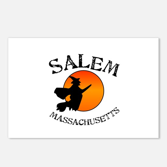 Salem Massachusetts Witch Postcards (Package of 8)