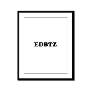 EDBTZ Framed Panel Print