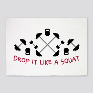 Drop It 5'x7'Area Rug