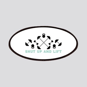 Shut Up And Lift Patch