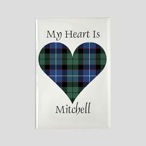 Heart-Mitchell Rectangle Magnet