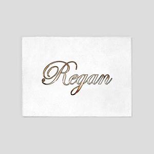 Gold Regan 5'x7'Area Rug