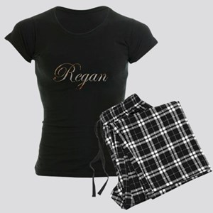 Gold Regan Women's Dark Pajamas