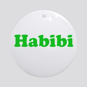 Habibi Ornament (Round)