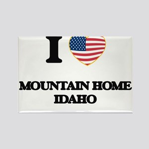 I love Mountain Home Idaho Magnets