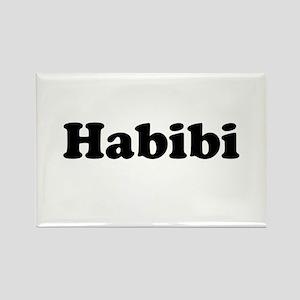 Habibi Rectangle Magnet
