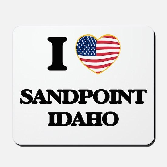 I love Sandpoint Idaho Mousepad