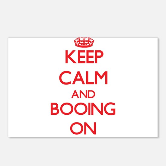 Keep Calm and Booing ON Postcards (Package of 8)