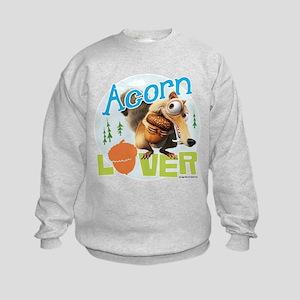Scrat Acorn Lover Kids Sweatshirt