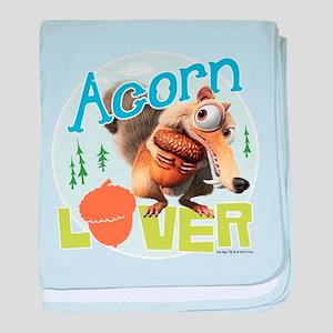 Scrat Acorn Lover baby blanket