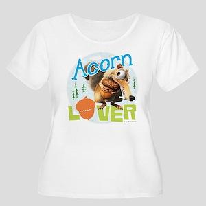 Scrat Acorn L Women's Plus Size Scoop Neck T-Shirt