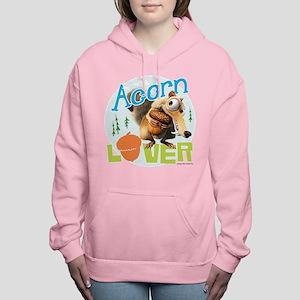 Scrat Acorn Lover Women's Hooded Sweatshirt