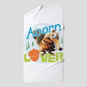 Scrat Acorn Lover Beach Towel