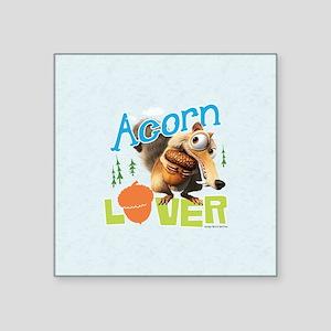 "Scrat Acorn Lover Square Sticker 3"" x 3"""