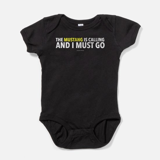 Mustang Is Calling Baby Bodysuit