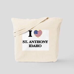 I love St. Anthony Idaho Tote Bag