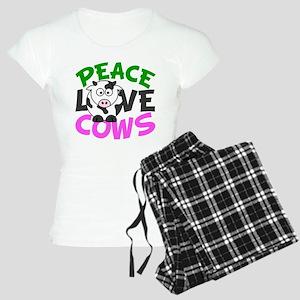 Love Cows Women's Light Pajamas