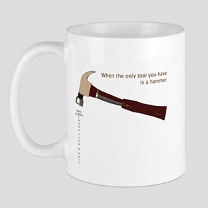 Hammer Problem Mug