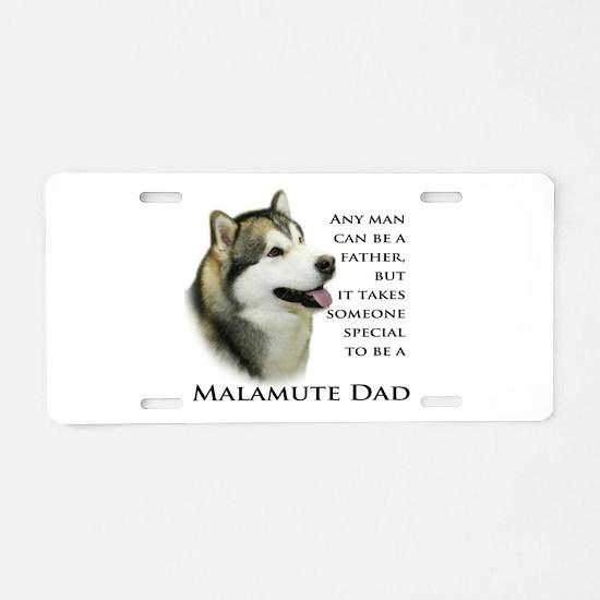 Malamute Aluminum License Plate