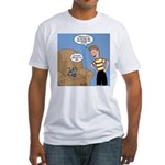 Timmy Goes Outside Fitted T-Shirt
