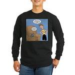 Timmy Goes Outside Long Sleeve Dark T-Shirt