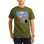 Timmy Goes Outside Organic Men's T-Shirt (dark)