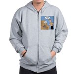 Timmy Goes Outside Zip Hoodie