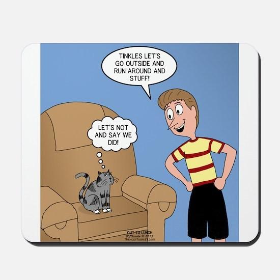 Timmy Goes Outside Mousepad