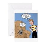 Timmy Goes Outside Greeting Cards (Pk of 20)