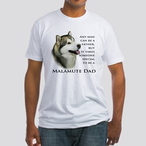 Malamute Fitted T-Shirt