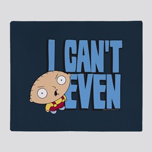 Family Guy Stewie I Can't Even Full Throw Blanket