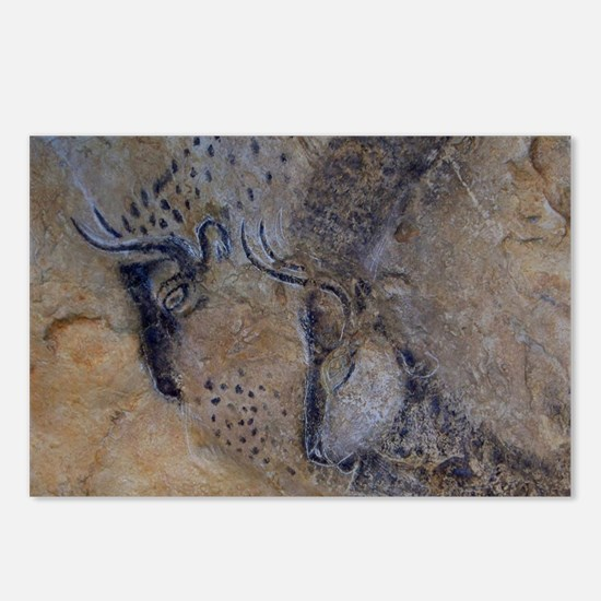 french pyrenees cave pain Postcards (Package of 8)