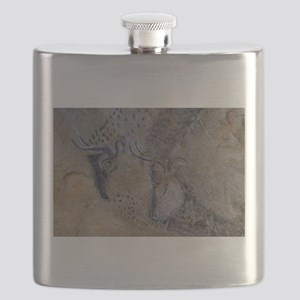 french pyrenees cave paintings Flask